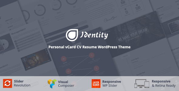 Identity - Multi/One-Page Business WordPress Theme