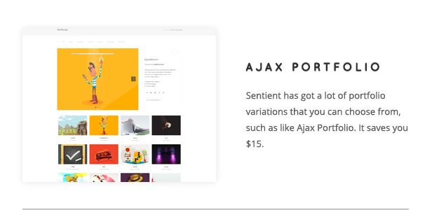 Sentient - Responsive Multi-Purpose WP Theme